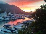 Sunset View from Veranda
