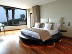Guest Bedroom with sea views and access to a terrace