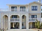 Luxury ocean block home with wraparound decks!