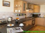 Fully fitted kitchen with all essential mod cons