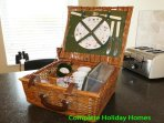 Picnic basket also available