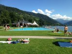 Several Outdoor swimming pools in the area