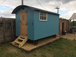 Our Shepherds Hut sleeping 2. The perfect addition for larger groups.