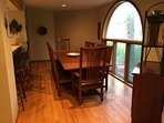dining room seats 10  kitchen bar seats 5 kitchen table seats 6  all open concept
