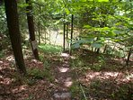 This property features private access to Sleepy Creek. Bring your fishing gear!