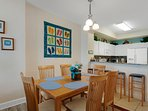 Enjoy your meals around this charming dining table