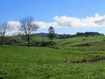 Stunning rural views.