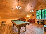 This home sits just 5 minutes from downtown Gatlinburg!
