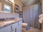 This 4-bedroom, 4-bathroom house has plenty of sleeping space and bathroom space for guests so getting ready in the...