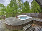 As the evening approaches, move to the outdoor hot tub that can fit all 8 guests, turn on the jets and relax while...