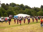 Local Highland games - last weekend in August