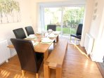 Croyde Holiday Cottages Nuthurst Dining Table