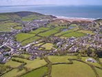 Nuthurst Croyde Holiday Cottages Aeriel