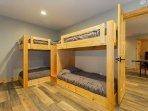 Basement 2 sets of bunk beds