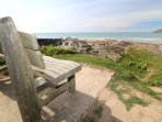 Hills View Croyde Holiday Cottages Bench