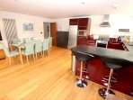 Croyde Holiday Cottages 3 Point View Loungdiner