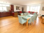 Croyde Holiday Cottages Apt 3 Point View Liviing Area