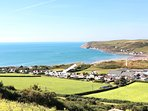 Croyde Holiday Cottages 3 Point View From Hill