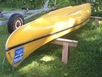 Family size canoe included in rent (for up to 3 adults or 2 adults and 2 children)