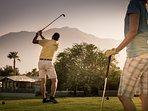 Try our 9-hole Par 3 golf course