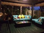 Nightime in the Cabana