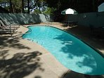 Seasonal pool unheated only shared with 8 other units  June 5th to Mid September