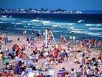 Walking distance to main beach and footbridge beaches less than 1 mile