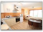 Modern well equipped property  -  with fully fitted  kitchen