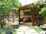 Private outdoor patio.
