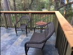 Enjoy coffee or read a book on the deck every morning in peace and quiet.