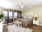 Enjoy the relaxing view of the Gulf of Mexico from the spaciousn