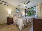 Luxury King Sized Bed In Master Bedroom With Split System AC