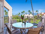 Large Lanai With Ocean Views And Chaise Lounge