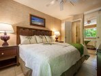 Master Bedroom With Luxury King Bed And AC