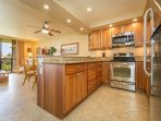 Fully Remodeled Kitchen With Stainless Steel Appliances