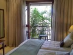 Bedroom with own veranda with sette