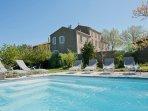 Le Manoir Pool & Facade