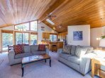 Open floor plan is perfect for gathering family and friends!