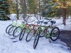 6 adult bikes await you at 32 Toktaee