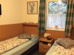 Guest bedroom - 2 single beds