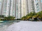 Malaysia 1st Man Made Beach Apartment at Kuala Lumpur city center.