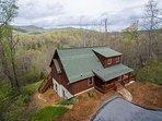 Blue Bear Cabin | 3 BR Asheville Area | Mountain Views | Gas Fireplace