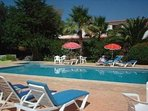 Villa Feliz 11mx6m swimming pool with young child shallow area