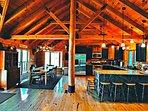 Log Home at Beltzville Lake