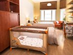 There is Two cribs available!