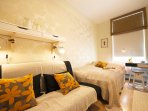 All rooms have roller nightblinds and wooden blinds