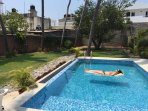 There are many swimming pools, but ours is the only maintained clean with Sea salt o natural process