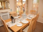 Celebrating??  Dine in style at Daisy Lodge.  Ample quality crockery, cutlery and glassware