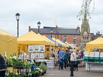 Stratford upon Avon has numerous markets throughout the year