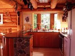 Full kitchen with a view